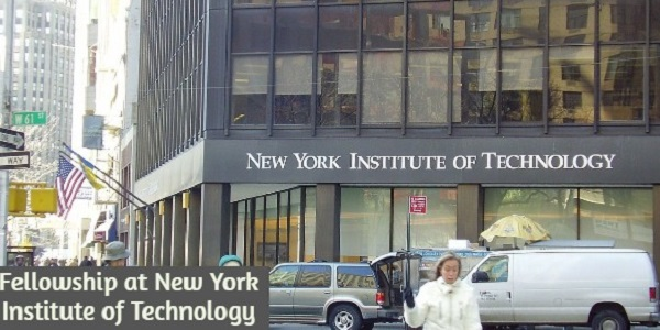 Fellowship at New York Institute of Technology: (Deadline 31 December 2020)