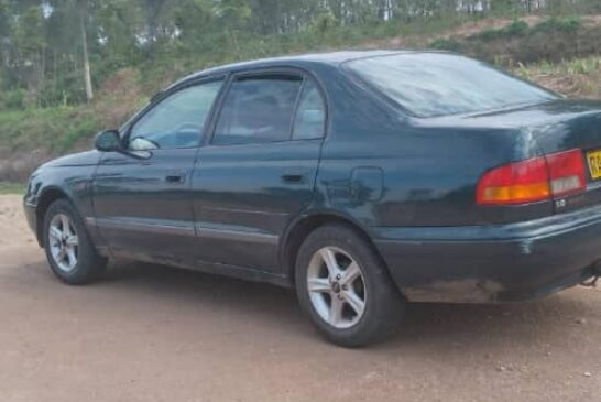 Car For sale Make: Toyota Carina E Year: 1997 Fuel :Essence Transmission :Automatic Plate :RAE ...H Price:5M