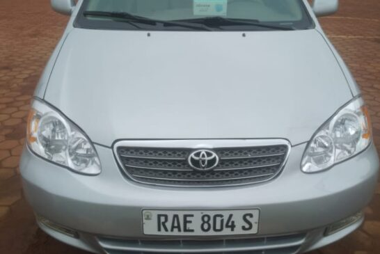 Car for Sale, Toyota Corolla C E, Year: 2003, Price: 7,800,000Frw