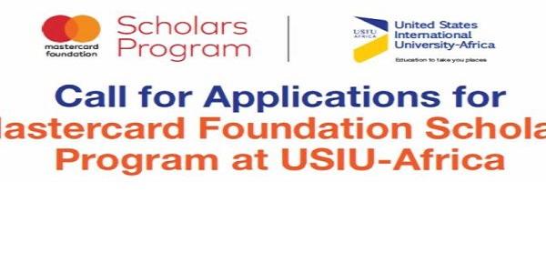 Mastercard Foundation Scholars Program at United States International University – Africa 2021/2022 (Fully-funded): (Deadline 27 November 2020)