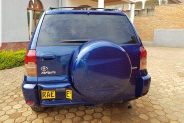 CAR FOR SALE, TOYOTA RAV 4, Year: 2002, PRICE: 6,500,000RWF