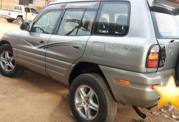 Car For Sale, TOYOTA RAV4 Year: 1998, Price; 4.200.000frw