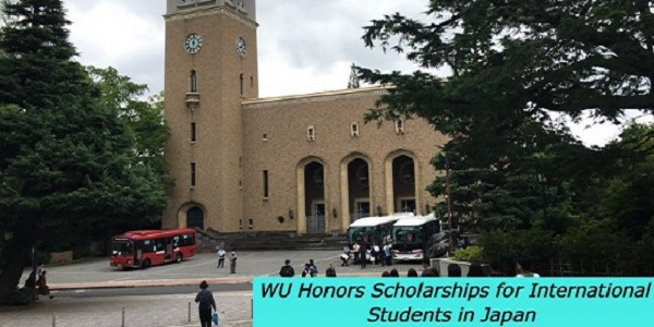 WU Honors Scholarships for International Students in Japan: (Deadline 8 January 2021)