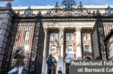 Postdoctoral Fellowship at Barnard College: (Deadline 15 January 2021)