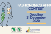 African Development Bank (AfDB) Fashionomics Africa Contest 2021 (USD $2,000 prize): (Deadline 31 December 2020)