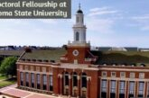 Postdoctoral Fellowship at Oklahoma State University: (Deadline	31 January 2021)