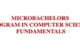 MicroBachelors Program in Computer Science Fundamentals: (Deadline Ongoing)