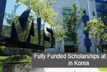 Fully Funded KAIST International Scholarships in South Korea: (Deadline Ongoing)