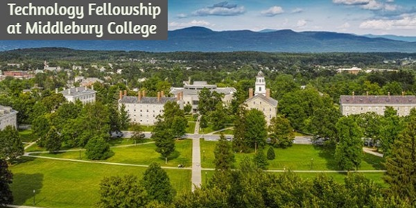 Technology Fellowship at Middlebury College: (Deadline 31 January 2021)
