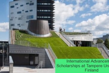International Advancement Scholarships at Tampere University in Finland: (Deadline 20 January 2021)