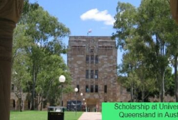 Scholarship at University of Queensland in Australia: (Deadline Ongoing)