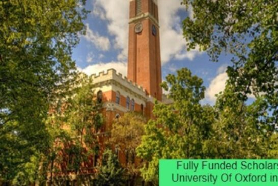 Fully Funded Scholarship in the USA: (Deadline Ongoing)