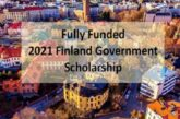 2021 Finland Government Scholarship – Fully Funded: (Deadline	27 January 2021)