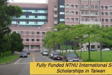 Fully Funded NTHU International Student Scholarships in Taiwan: (Deadline 15 March 2021)