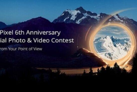 SkyPixel 6th Anniversary Aerial Photo & Video Contest: (Deadline 18 February 2021)