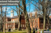 Postdoctoral Fellowship at Harvard University: (Deadline 28 February 2021)