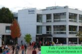 Fully Funded Scholarships at University of Warwick in the UK: (Deadline Ongoing)