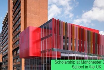 Scholarship at Manchester Business School in the UK: (Deadline 1 August 2021)