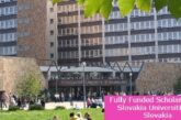Fully Funded Scholarship at Slovakia Universities in Slovakia: (Deadline Ongoing)