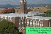 Fully Funded Future Leaders Scholarship at Kyoto University in Hongkong: (Deadline 1 February 2021)