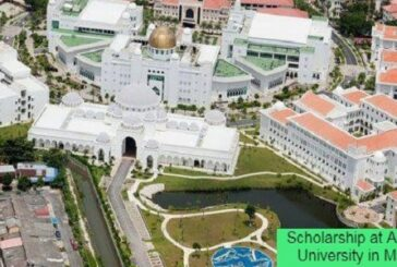 Scholarship at Albukhary University in Malaysia: (Deadline 17 February 2021)