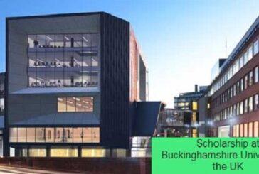 Scholarship at Buckinghamshire University in the UK: (Deadline Ongoing)