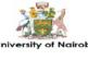 University of Nairobi Research and Innovation Fellowship 2021: (Deadline 22 January 2021)