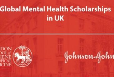 Johnson & Johnson Global Mental Health Scholarships 2021-22: (Deadline	21 March 2021)