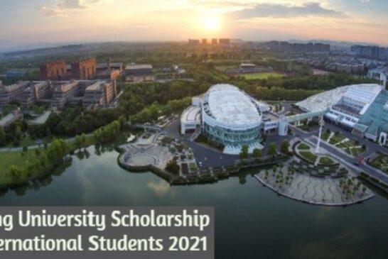 Zhejiang University Scholarship for International Students 2021: (Deadline 10 March 2021)