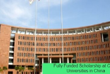 Fully Funded Scholarship at China Universities in China: (Deadline 1 February 2021)