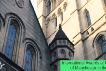 International Awards at University of Manchester in the UK: (Deadline 25 March 2021)