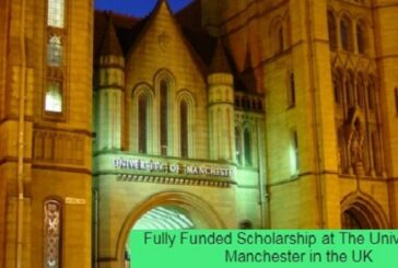 Fully Funded Scholarship in the UK: (Deadline 22 January 2021)