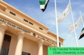 Fully Funded Scholarship at Abu Dhabi University in the UAE: (Deadline 18 February 2021)