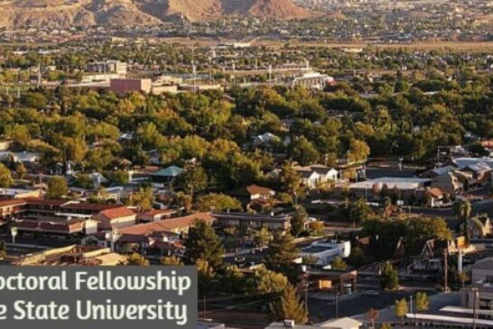 Post-Doctoral Fellowship at Dixie State University: (Deadline 28 February 2021)