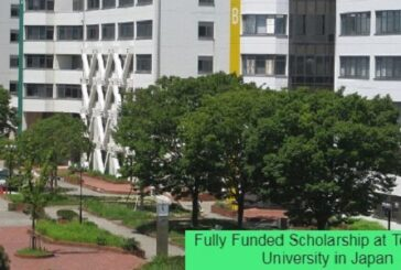 Fully Funded Scholarship at Toyohashi University in Japan: (Deadline 25 January 2021)