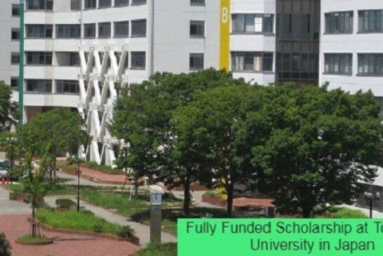 Fully Funded Scholarship at Toyohashi University in Japan: (Deadline 25 January 2021)