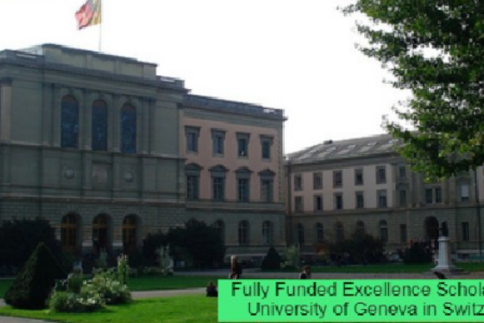 Fully Funded Scholarship in Switzerland: (Deadline 15 March 2021)