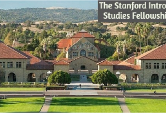 The Stanford Introductory Studies Fellowship 2021: (Deadline 16 February 2021)