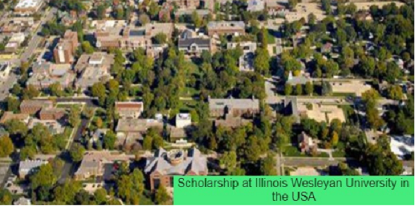 Scholarship at Illinois Wesleyan University in the USA: (Deadline: 15 February 2021)