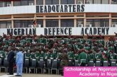 Scholarship at Nigerian Defense Academy in Nigeria: (Deadline 24 April 2021)
