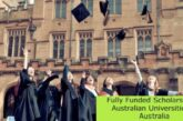 Fully Funded Scholarship at Australian Universities in Australia: (Deadline 30 April 2021)