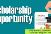 Fully Funded Scholarship at Fulbright Program in USA: (Deadline 15 September 2021)