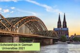 Full Scholarships in German Universities 2021: (Deadline 12 April 2021)