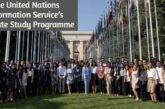 The United Nations Information Service's Graduate Study Programme: (Deadline 5 March 2021)