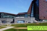 Scholarship at University of Plymouth in the UK: (Deadline 31 May 2021)