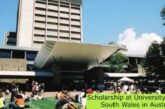 Scholarship at University Of New South Wales in Australia: (Deadline 31 March 2021)