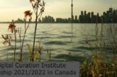 Digital Curation Institute Fellowship 2021/2022 in Canada: (Deadline 31 March 2021)