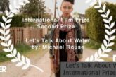 Let's Talk About Water International Prize 2021: (Deadline 30 April 2021)