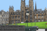The Catto Combined MSc and PhD Scholarships: (Deadline 30 March 2021)