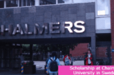 Scholarship at Chalmers University in Sweden: (Deadline 22 February 2021)